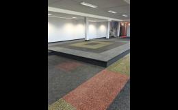 Pryžové podlahy a desky od společnosti NOKO Servis s.r.o.