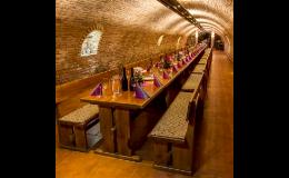 Firemní akce, oslavy ve vinném sklepě vinařství Kukla