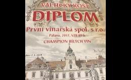 Kvalitní oceněná vína z vinných sklepů První vinařská