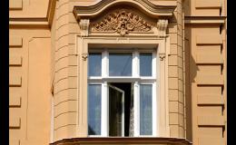 Kastlová - špaletová dřevěná okna pro historické budovy