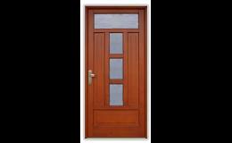 Dřevěné vstupní dveře - tepelná a zvuková izolace