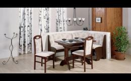 Sestava kuchyňského nábytku v klasickém provedení