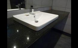 Kamenné pracovní desky do koupelny