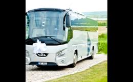 Klimatizované autobusy pro přepravu žáků a studentů