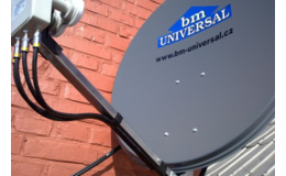 Instalace satelitních a digitálních systémů