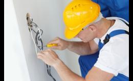 Opravy elektroinstalací, elektroinstalační práce