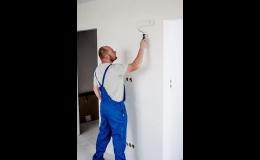 Opravy omítek, malování, natěračské práce - hodinový manžel