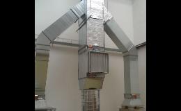 Vzduchotechnika a klimatizace potravinářských provozů