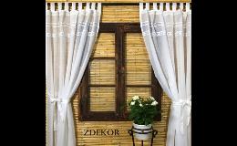 Bytové textilie, záclony, závěsy v e-shopu