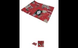 Stolní běhouny, ubrusy, chňapky, prostírání, zástěry s vánočním vzorem