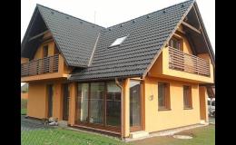 Stavba rodinných domů od společnosti M-Stavby, s.r.o.