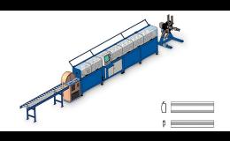 Profilovací tratě pracují s hliníkovými i ocelovými pásy