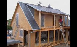 Výstavba dřevostavby od společnosti Stavby Nisa s.r.o.