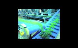 Dopravní a procesní pásy spojené svařováním nebo mechanickou sponou