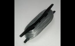 Vázací pozinkovaný drát, napínací drát a další příslušenství
