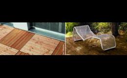 Přípravky pro venkovní dřeviny, terasy