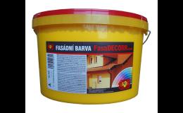 Interiérová barva InDeccor, Tomeš - výroba stavebních hmot