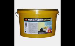 InDeccor interiérová barva, Tomeš - výroba stavebních hmot