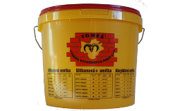 Pastovité akrylátové omítky od českého výrobce