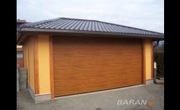 Sekční garážová vrata, Baran-FMB, spol. s r.o.