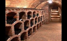 Vinný sklípek penzionu Moravský sommelier