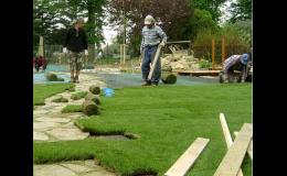 Kompletní realizace zahradního jezírka ke koupání