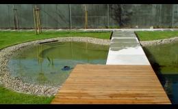 Koupací zahradní jezírka pro vaši zahradu na klíč