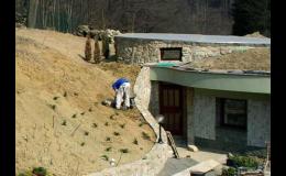 Zahradnické služby včetně práce zahradního architekta