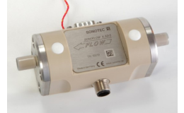 Průtokoměr kapalin Sonoflow  k měření malých průtoků v potrubí
