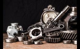 Ložiska, gufera, o-kroužky, důlní a válečkové řetězy, pohonové řemeny