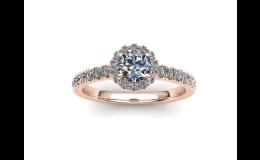 Zakázková výroba zásnubních prstenů s briliantem