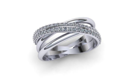 Dámské prsteny s brilianty ze Zlatnictví Karel Stoch