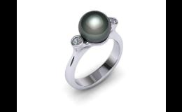 Velký výběr perlových prstenů v e-shopu