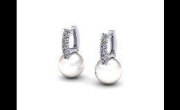Perlové šperky, náušnice, prsteny, přívěsky s bílou nebo černou perlou