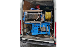 Pohotovostní zařízení pro čištění kanalizačních sítí