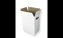 Praktická kartonová krabice na 6 lahví vína