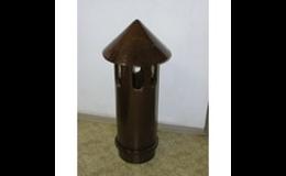 Keramický ventilační nástavec - PKZ Keramika Poštorná