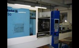 Stroje na vstřikování technických termoplastů
