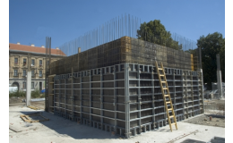 Stěnové bednění LOGIK 50 k bednění pilířů, stěn, sloupů, zaoblených konstrukcí