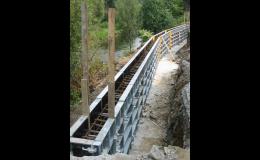 Stěnové bednění LOGIK 50 pro perfektní povrch betonových konstrukcí