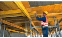 Stropní bednění SCAFLEX pro rovné i tvarově složité stropy