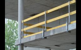 Ochrana volného okraje pro maximální bezpečnost staveb