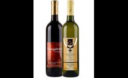 Kvalitní vína s vlastní firemní etiketou