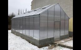 Atypický skleník pro skvělou úrodu na zahradě