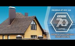 Kvalitní střešní šindele Katepal v e-shopu