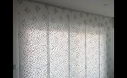 Moderní a oblíbené japonské posuvné stěny