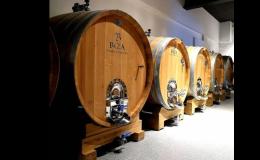 Vysoce kvalitní vína z velkých sudů