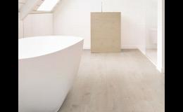 Podlahy vhodné do vlhkého prostředí