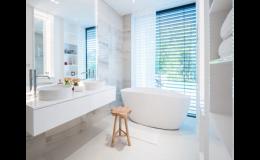 Nová koupelna podle moderních trendů