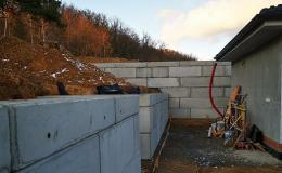 Betonové bloky pro stavebnictví